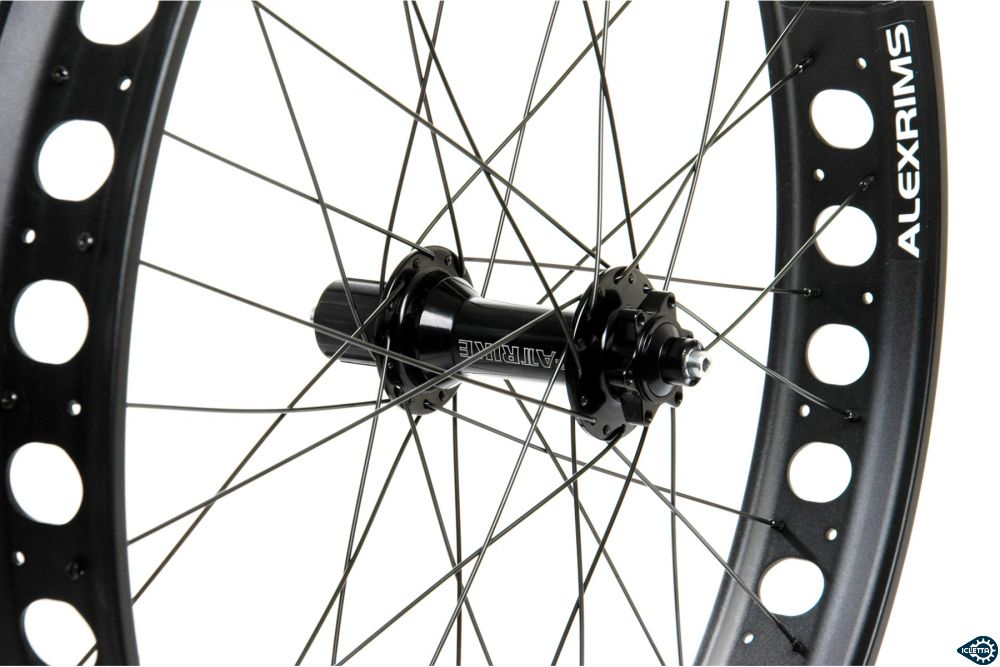 26 inch rear wheel Fatrike 170 mm for disc brake and chain drive