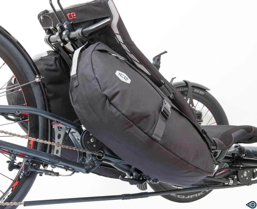 Recumbent bags Radical Allfa can be used single or as a pair