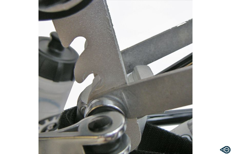 Seat mount upper for ICE Mesh Seat
