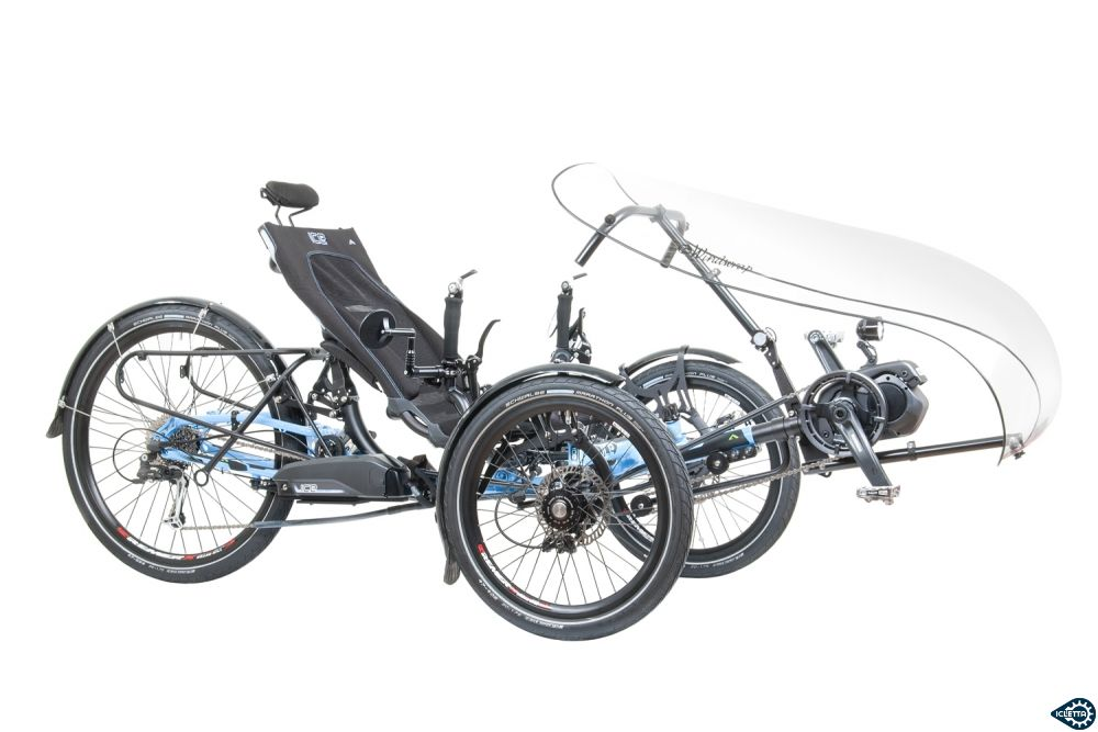 TerraCycle Windwrap WGX with WINTR Mount on the ICE Adventure HD with Shimano Steps E6100
