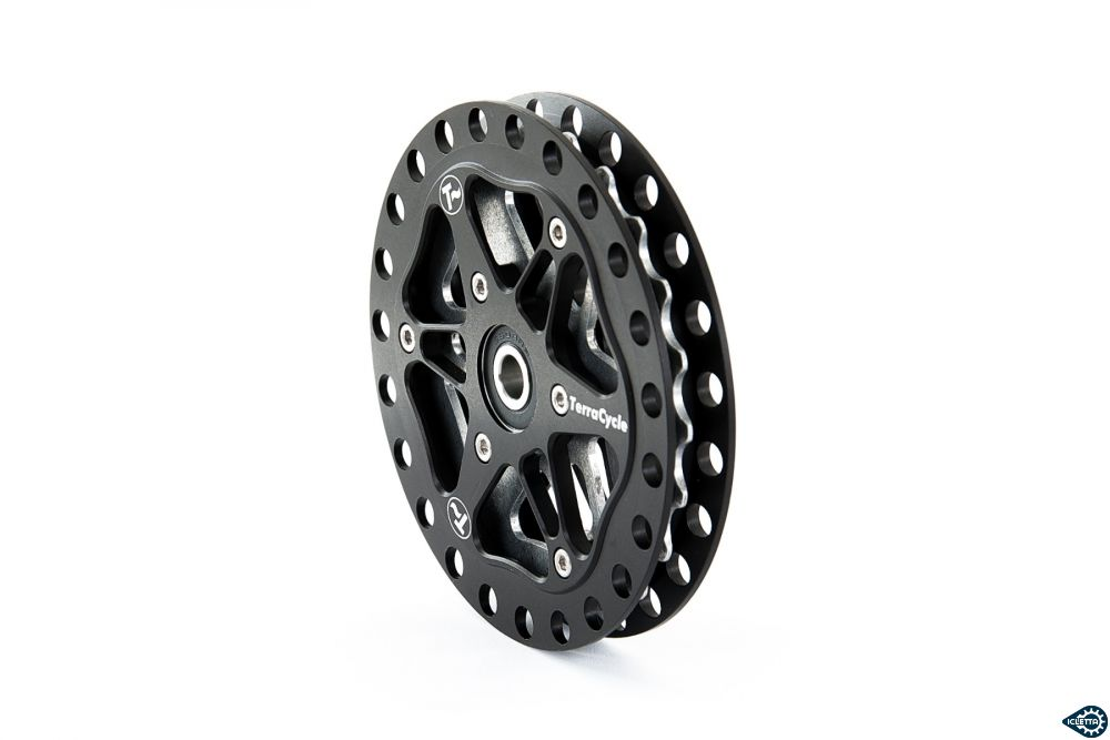 Idler TerraCycle ELITE, Power 23 tooth, TI, OD 101 mm, ID 8 mm